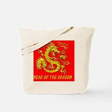 YOTD Shoulder BagGold Dragon Tote Bag