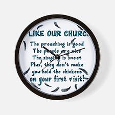 i-like-our-church Wall Clock