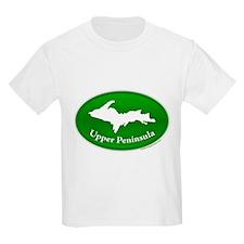 Yooper Badge Kids T-Shirt