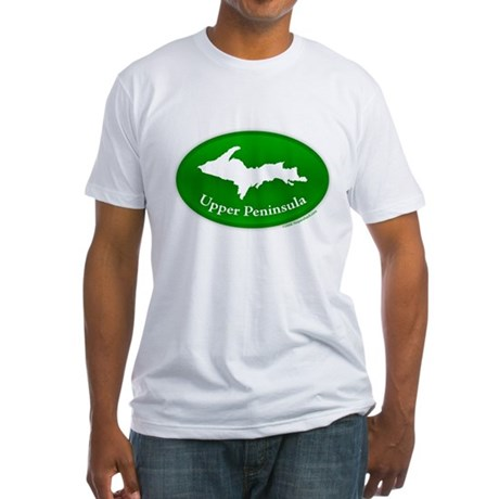 Yooper Badge Fitted T-Shirt