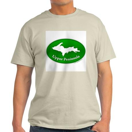 Yooper Badge Light T-Shirt