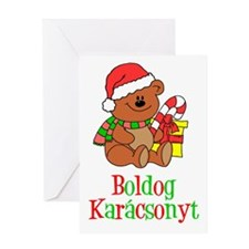 Boldog Karcsonyt Hungarian Greeting Card