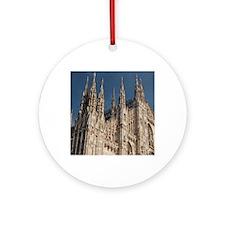 Italy, Milan Province, Milan. Milan Round Ornament