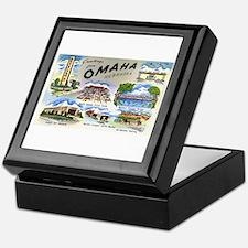 Omaha Nebraska Keepsake Box