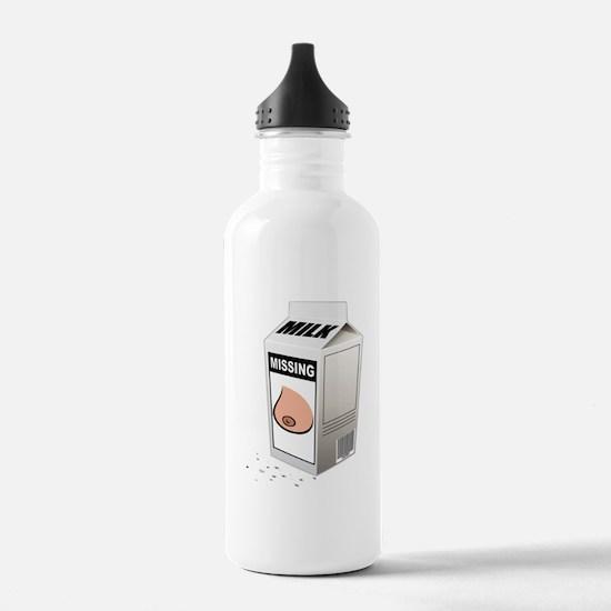 missing boob 5x5_infan Water Bottle