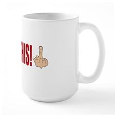 occupy this finger bs Coffee Mug