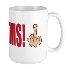 occupy this finger bs Mug