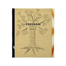 FreedomTree-LG Throw Blanket