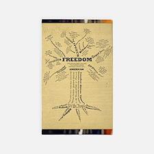 FreedomTree-LG 3'x5' Area Rug