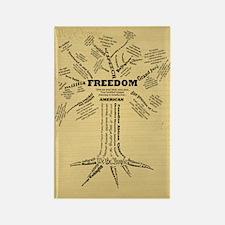 FreedomTree-LG Rectangle Magnet