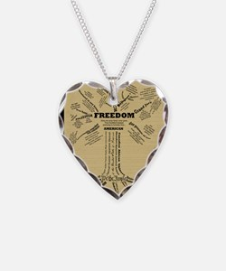FreedomTree-LG Necklace Heart Charm