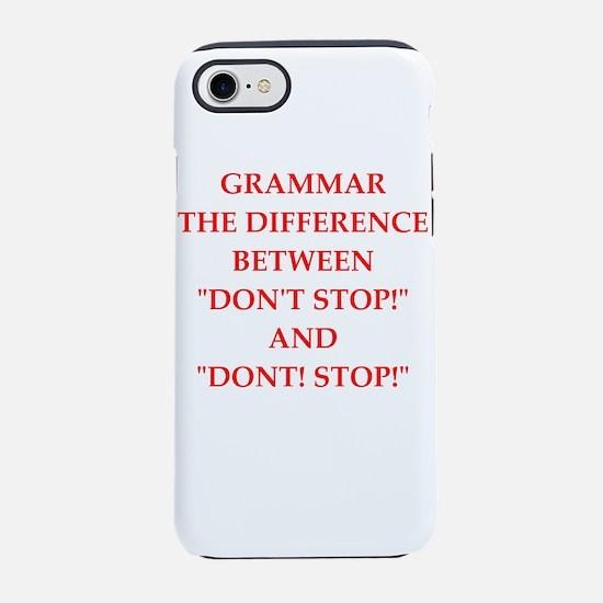 grammar iPhone 7 Tough Case