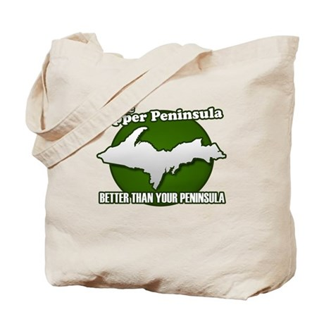 Better Than Your Peninsula Tote Bag