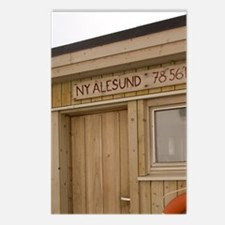 Ny Alesund (aka King's Ba Postcards (Package of 8)