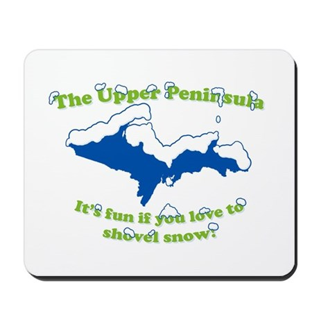Do You Like Shoveling Snow? Mousepad