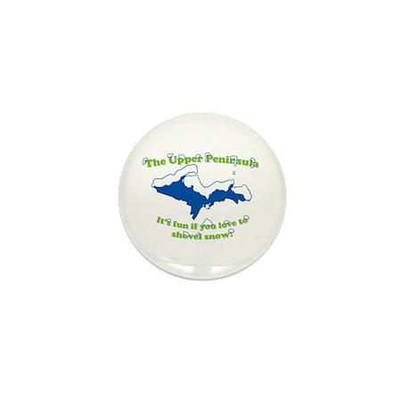 Do You Like Shoveling Snow? Mini Button (10 pack)