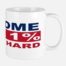 1% bumpersticker Mug