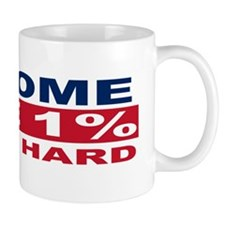 1% bumpersticker Small Small Mug