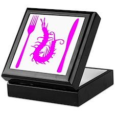 centipede-pink Keepsake Box