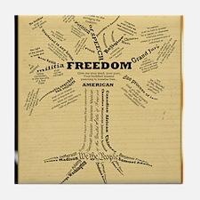 FreedomTree-SM-PSTR Tile Coaster