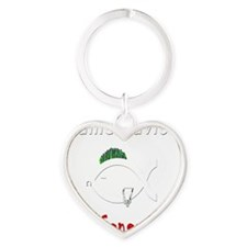 new-generation-white-itouch Heart Keychain