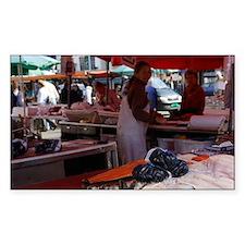 Bergen fish market (monkfish Decal