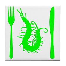 centipede-green Tile Coaster