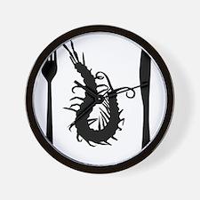 centipede-black Wall Clock