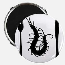 centipede-black Magnet