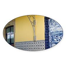 Porto. Azulejos depicting the grape Decal