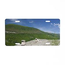 Mavrovo National Park. Svet Aluminum License Plate