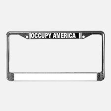OCCUPY AMERICA License Plate Frame