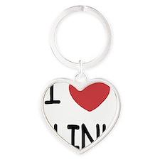 KLINK Heart Keychain