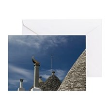 Unesco World Heritage Site Trulli Ho Greeting Card