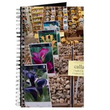 Crates of assorted Calla Lily bulbs at the Journal
