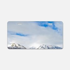 Norway. Lerneroyane or Lern Aluminum License Plate