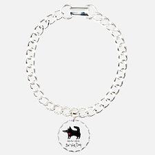 dog no background black Bracelet