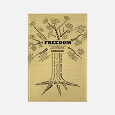 FreedomTree_9x12 Rectangle Magnet