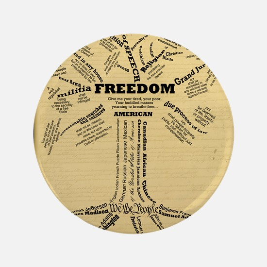 "FreedomTree_9x12 3.5"" Button"