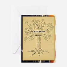 FreedomTree_9x12 Greeting Card