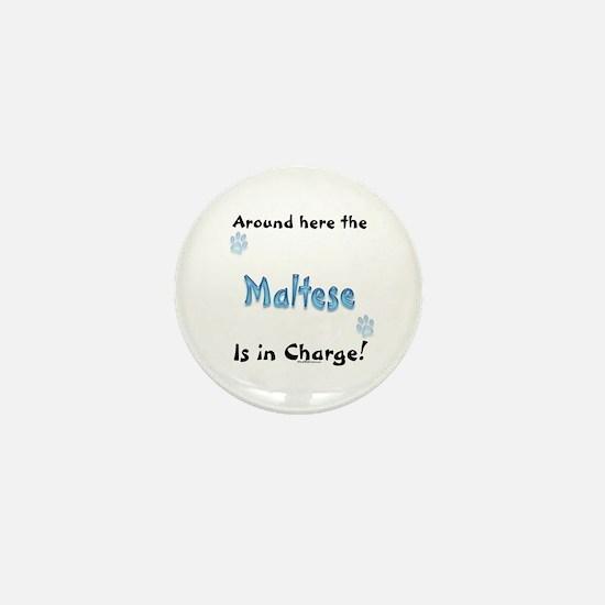 Maltese Charge Mini Button