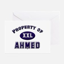 Property of ahmed Greeting Cards (Pk of 10)