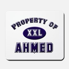 Property of ahmed Mousepad
