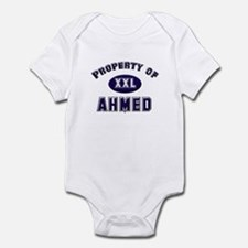Property of ahmed Infant Bodysuit
