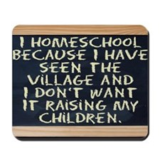 homeschool-laptop Mousepad