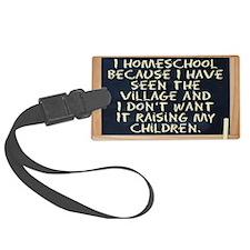 homeschool-laptop Luggage Tag
