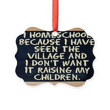 homeschool-laptop Ornament
