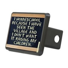 homeschool-laptop Hitch Cover