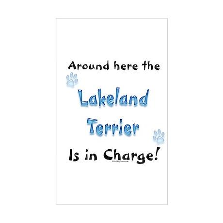 Lakeland Charge Rectangle Sticker