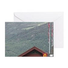 Flam's Bann station, innermost part  Greeting Card